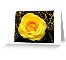 Abstract Rose Macro Greeting Card