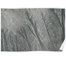 wet sand texture 2 Poster