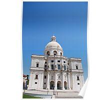 Santa Engracia church in Lisbon Poster