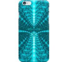 Cyan Fractal iPhone Case/Skin