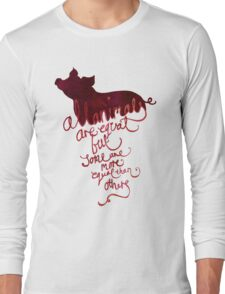 All Animals are Equal Long Sleeve T-Shirt