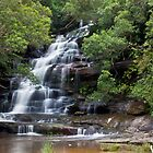Somersby Falls, Central Coast, NSW - Australia by Isabel J Coote Photography