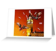 Tic Tok Rock Greeting Card