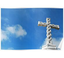 Cross in clouds  Poster