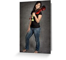 Love for Music-3 Greeting Card