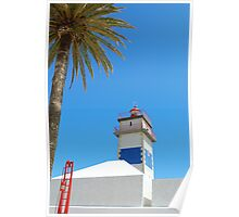 Lighthouse in Cascais Poster