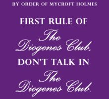 First rule of The Diogenes Club by nimbusnought