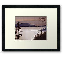 Whiskey Island Framed Print