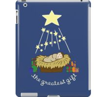 The Greatest Gift iPad Case/Skin