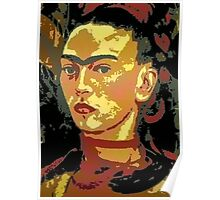 Frida Kahlo: Courage Personified Poster