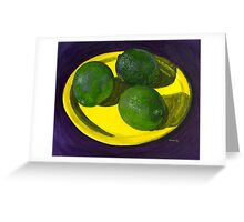 Time For Limes Greeting Card