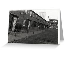 Council Estate Greeting Card