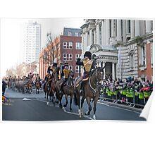 The Kings Troop Royal Horse  Artillery Poster