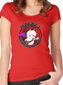 Mognet Delivery Service Women's Fitted Scoop T-Shirt