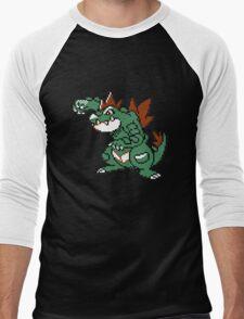 Feraligatr Devamped Sprite Men's Baseball ¾ T-Shirt
