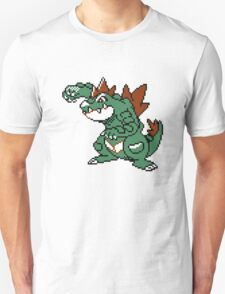 Feraligatr Devamped Sprite Unisex T-Shirt