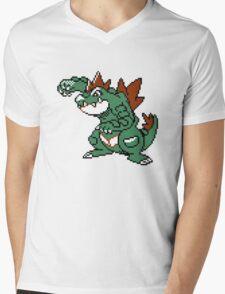 Feraligatr Devamped Sprite Mens V-Neck T-Shirt