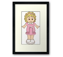 Polly Pocket Framed Print