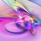 Daddy`s girl by Fractal artist Sipo Liimatainen