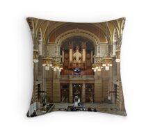 Kelvinhall Museum Throw Pillow