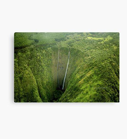Hi'ilawe Falls Canvas Print