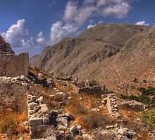 Chorio, Halki by Tom Gomez