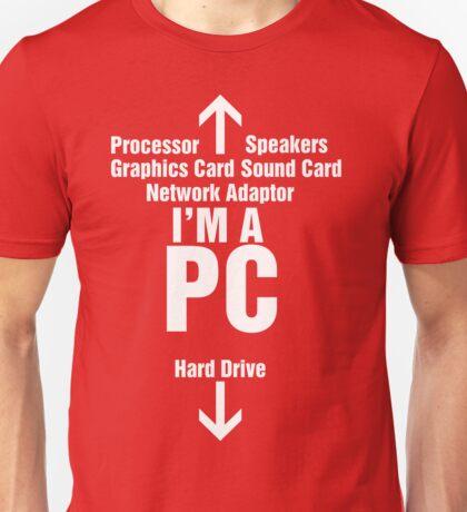 I'm a PC Unisex T-Shirt