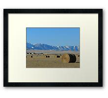 High Prairies Framed Print