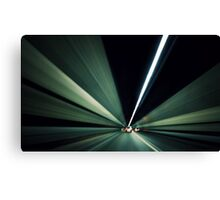 tunnel vision.. Canvas Print