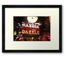 Chicago Marquee Framed Print