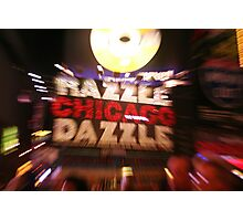Chicago Marquee Photographic Print