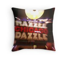 Chicago Marquee Throw Pillow