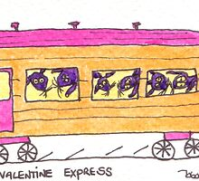 Tis Express Train by TisArt
