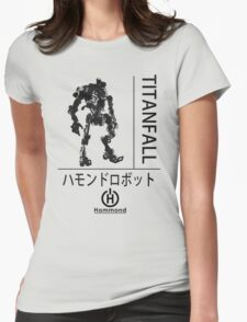 Titanfall #1 - Stryder Womens Fitted T-Shirt