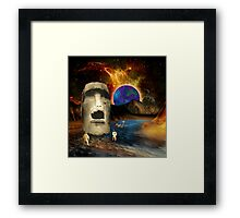 Discovery on the 7th World of Sheliak Framed Print