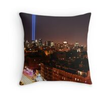Memorial Lights Tribute Throw Pillow