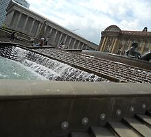The water fountain - side view by GemaKhan