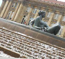 The wishing fountain again by GemaKhan