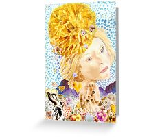 Angel of the Marigold Greeting Card