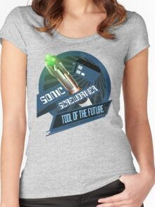 Screwdriver of the Future! Women's Fitted Scoop T-Shirt