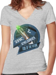 Screwdriver of the Future! Women's Fitted V-Neck T-Shirt