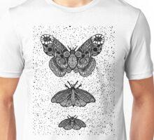Moths not butterflies Unisex T-Shirt