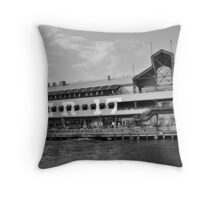 Pier 17 Throw Pillow