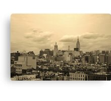 Old World City Canvas Print