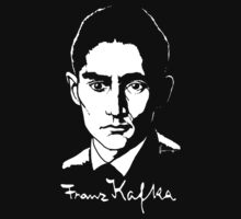 Franz Kafka (Dark) by B.J. West