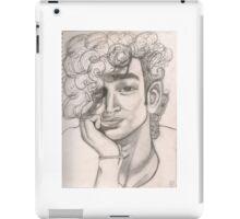 Matty Healy Pencil Sketch iPad Case/Skin