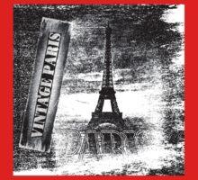Vintage Eiffel Tower Paris #3 T-shirt Kids Clothes
