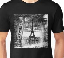 Vintage Eiffel Tower Paris #3 T-shirt Unisex T-Shirt
