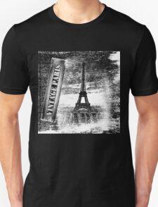 Vintage Eiffel Tower Paris #3 T-shirt T-Shirt