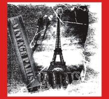 Vintage Eiffel Tower Paris #2 T-shirt Kids Clothes